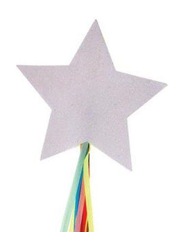 Meri Meri - Różdżki Gwiazdka biała