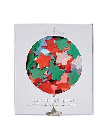 Meri Meri - Zestaw balonów Konfetti gwiazdki kolorowe