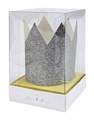 Meri Meri - Mini Korony srebrne