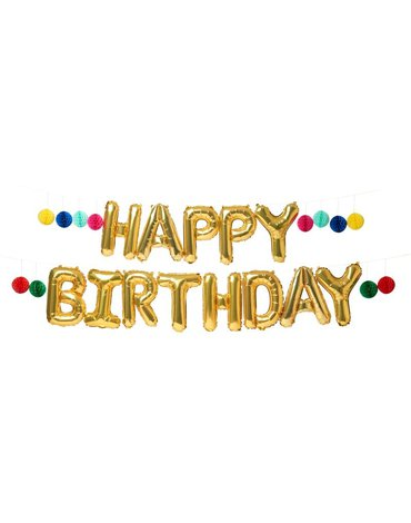Meri Meri - Girlanda Happy Birthday