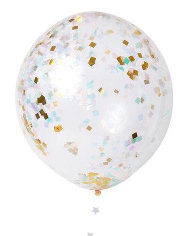 Meri Meri - Zestaw balonów Konfetti opalizujące