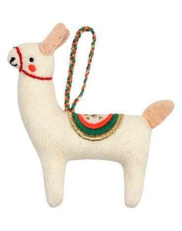 Meri Meri - Zawieszka choinkowa Lama