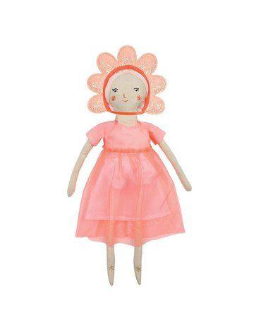 Meri Meri - Przebranie dla lalki Kwiatek z sukienką