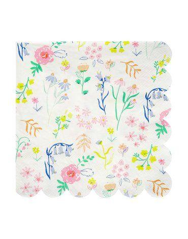 Meri Meri - Serwetki Kwiaty