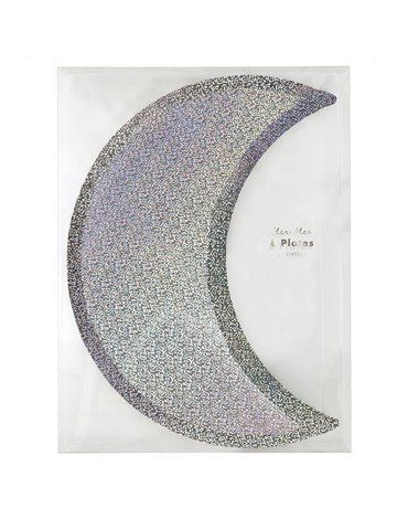 Meri Meri - Talerzyki Księżyc srebrny