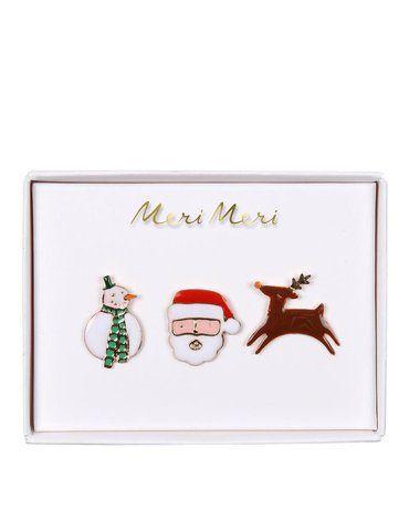 Meri Meri - Przypinki Boże Narodzenie