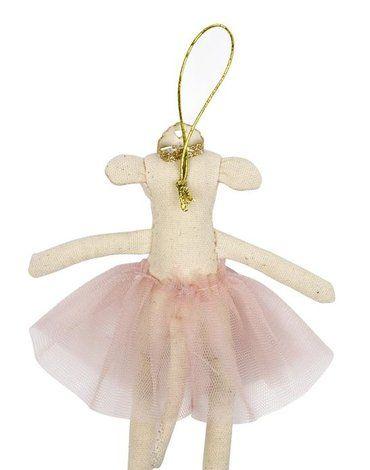 Meri Meri - Zawieszka choinkowa Mysz ballerina
