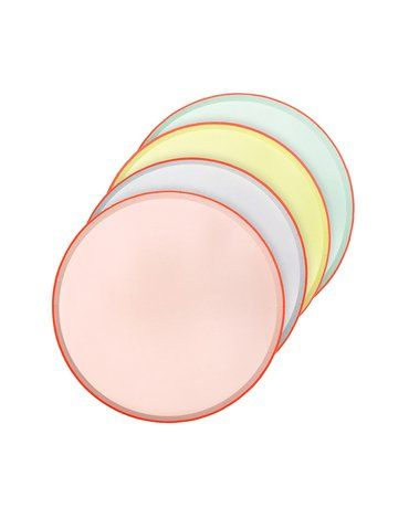 Meri Meri - Małe talerzyki Okrągłe pastelowe