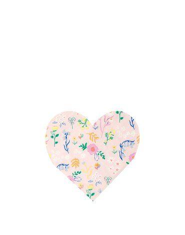 Meri Meri - Serwetki Serce kwiatki