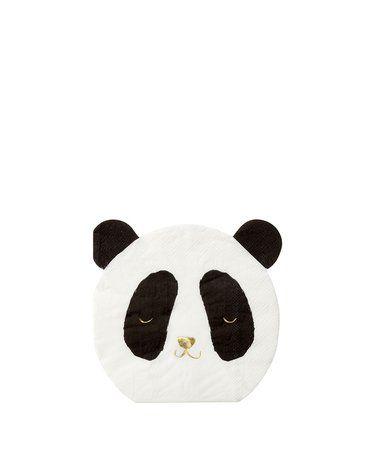 Meri Meri - Serwetki Panda
