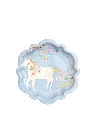 Meri Meri - Małe talerzyki Magiczne księżniczki