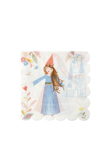 Meri Meri - Duże serwetki Magiczne księżniczki