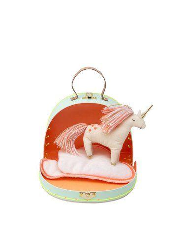 Meri Meri - Jednorożec mini w walizce