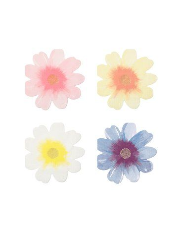Meri Meri - Serwetki Kwiaty ogrodowe