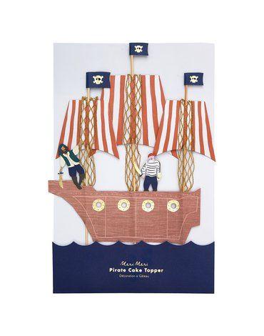 Meri Meri - Topper na tort Piraci