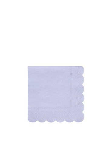 Meri Meri - Małe serwetki Simply Eco Niebieskie