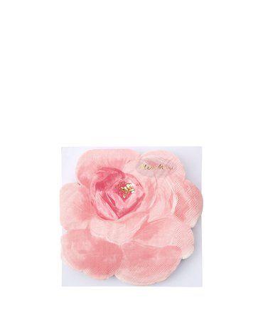 Meri Meri - Serwetki Róża kolorowa