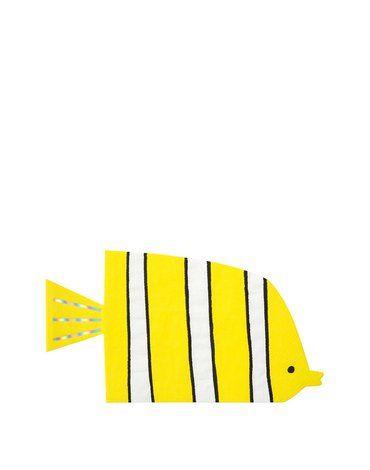Meri Meri - Serwetki Rybki Podwodny świat