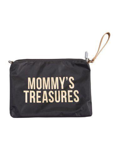 CHILDHOME - Torebka Mommy's Treasures Czarno-Złota