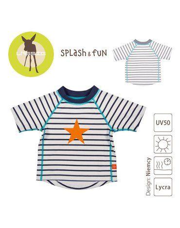 Lassig, Koszulka T-shirt do pływania Sailor, UV 50+