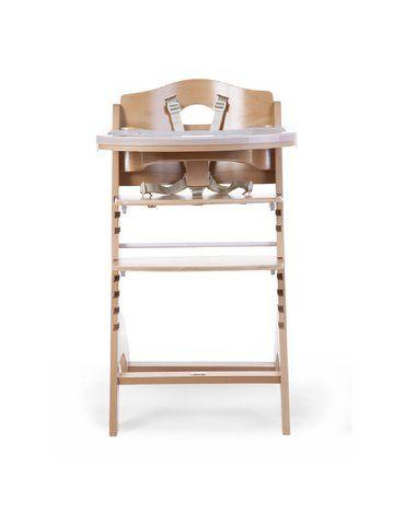Krzesełko do karmienia Lambda 3 Natural CHILDHOME