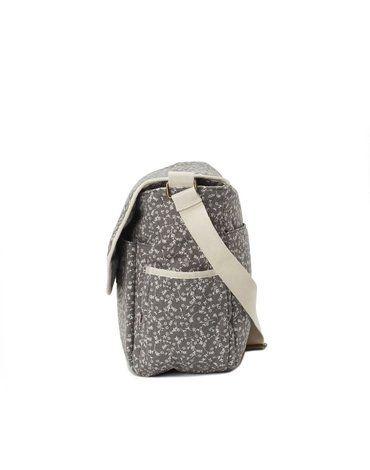 My Bag's Torba do wózka Flap Bag My Liberty Flowers dark grey