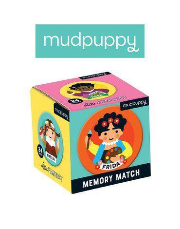 Mudpuppy Gra Mini Memory Niezwykłe kobiety