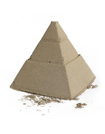 QUUT Zestaw 3 foremek do piasku Piramida Pira Vintage Blue + Deep Blue + Mellow Yellow Quut