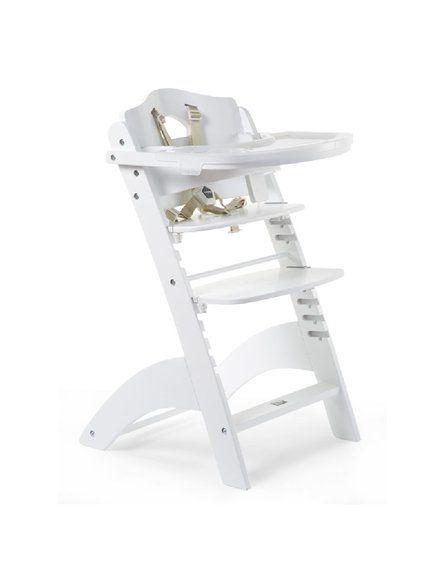 CHILDHOME - Krzesełko do karmienia Lambda 3 White