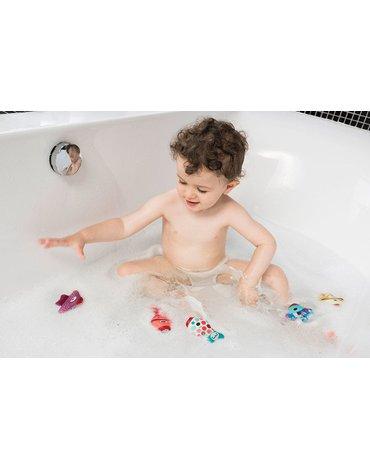 LILLIPUTIENS Mini - pacynki na palec do kąpieli Rybki 5 el. 9 m+ Lilliputiens