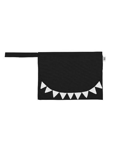 Baby Bites Przewijak podróżny Shark Black