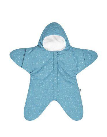 Baby Bites Kombinezon zimowy Star (3-6 miesięcy) Turquoise