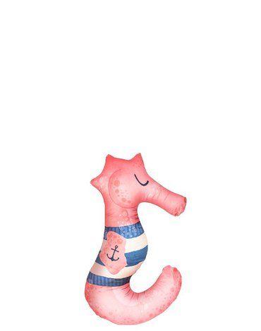 Baby Bites Poduszka do karmienia Sea Horse 55 x 35 cm Pink