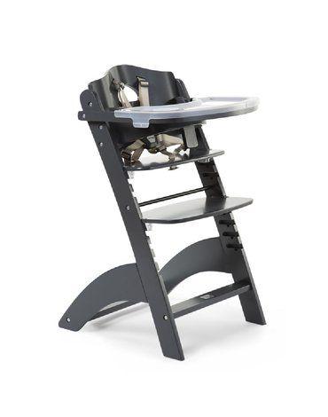CHILDHOME - Krzesełko do karmienia Lambda 3 Anthracite