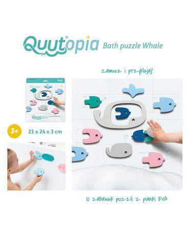 QUUT Zestaw puzzli piankowych Quutopia Wieloryb