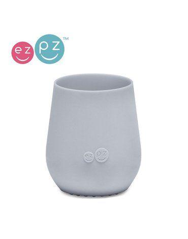 EZPZ Silikonowy kubeczek Tiny Cup pastelowa szarość