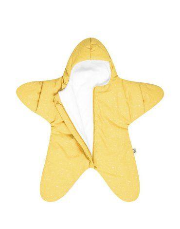 Baby Bites Kombinezon zimowy Star (3-6 miesięcy) Yellow