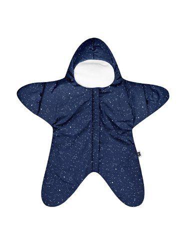Baby Bites Kombinezon letni Star (3-6 miesięcy) Navy Blue