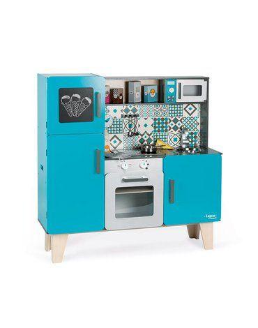 Kuchnia drewniana XL z dźwiękiem i 15 akcesoriami Lagoon, Janod