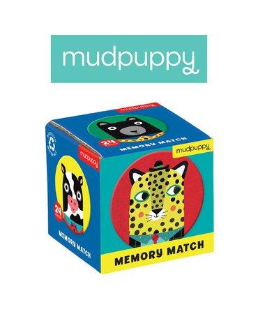 Mudpuppy Gra Mini Memory Zwierzęcy przyjaciele