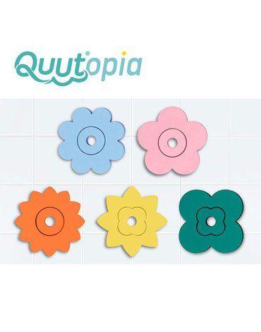 QUUT Zestaw puzzli piankowych Quutopia Kwiaty 10m+