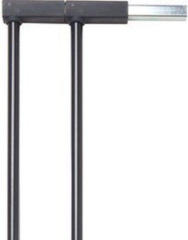 Rozszerzenie bramek Baby Dan PREMIER 14 cm, czarny