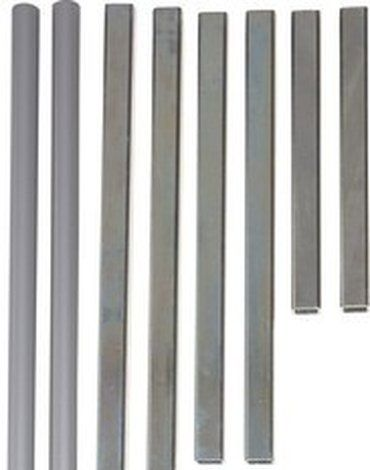Rozszerzenie bramki Baby Dan AVANTGARDE BUK 14 cm, srebrny