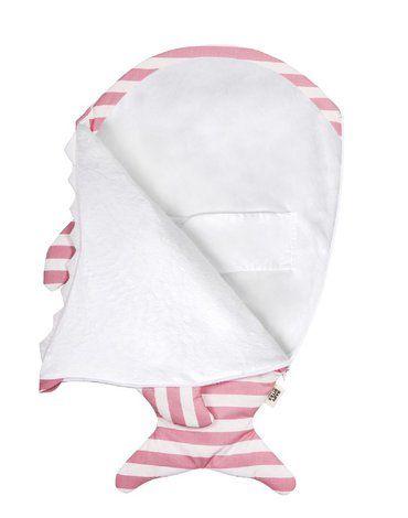 Baby Bites Śpiworek zimowy Sailor (0-3 miesięcy) Pink