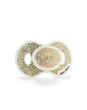 Elodie Details - Smoczek uspokajający 3 m+, Gold Shimmer