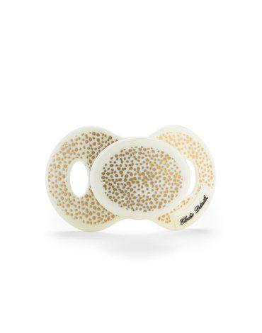 Elodie Details - Smoczek uspokajający 0m+, Gold Shimmer