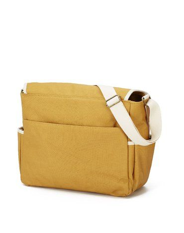 My Bag's Torba do wózka Flap Bag Happy Family Ochre