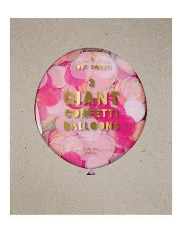 Meri Meri – Balon gigant Konfetti różowe