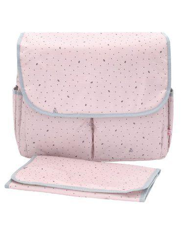 My Bag's Torba do wózka Flap Bag Leaf Pink