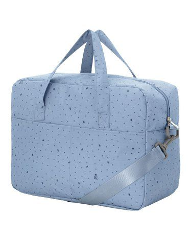 My Bag's Torba Maternity Bag Leaf Blue